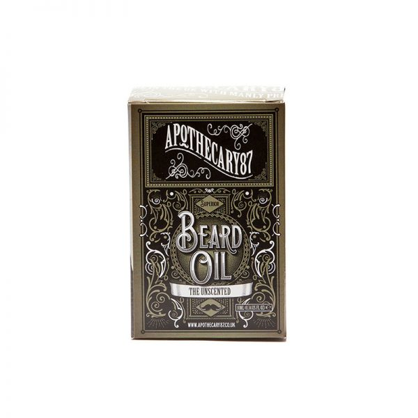 The Unscented Beard Oil 10ml